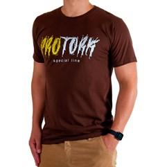 Camiseta Casual Pro Tork Special Line Marrom