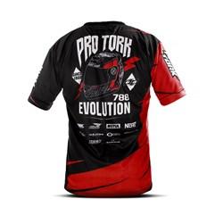 Camiseta Casual Pro Tork Vermelho