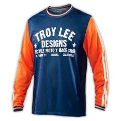 Camiseta Manga Longa Troy Lee Super Retro Jersey