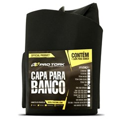 Capa De Banco YBR 125 Factor 2009 Até 2016 Pro Tork