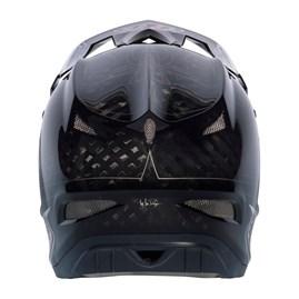 Capacete Bike Troy Lee D3 Pinstripe Carbon Preto