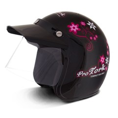 Capacete Compact For Girls Preto