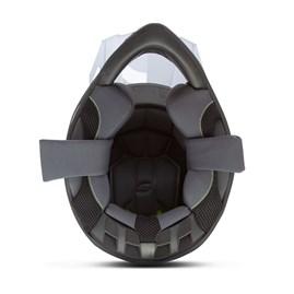 Capacete Cross Pro Tork Fast 788 Branco - Cinza