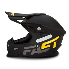 Capacete Cross Pro Tork Fast 788 Solid Amarelo