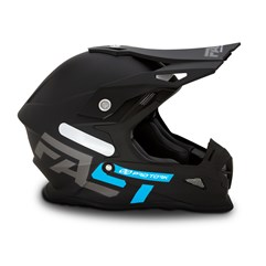 Capacete Cross Pro Tork Fast 788 Solid Azul