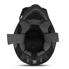 Capacete Cross Pro Tork Fast 788 Solid Vermelho