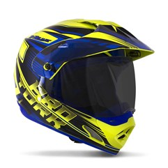 Capacete Cross TH1 Vision Adventure VIS. FUME