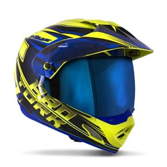 Capacete Cross TH1 Vision Adventure VIS. IRIDIUM