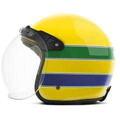 Capacete Custom Brasil Etceter Amarelo