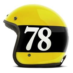 Capacete Custom Seven Eight Etceter Amarelo