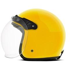 Capacete Custom Solid Etceter Amarelo