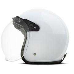Capacete Custom Solid Etceter Branco