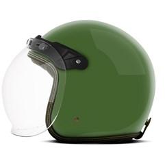 Capacete Custom Solid Etceter Green