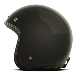 Capacete Custom Solid Etceter Matte Black