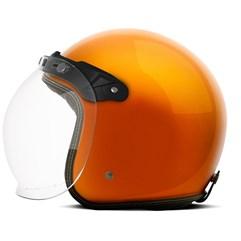 Capacete Custom Solid Etceter Orange