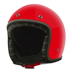 Capacete Custom Solid Etceter Vermelho