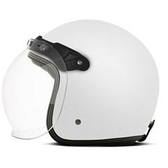 Capacete Custom Solid Fosco Etceter Branco