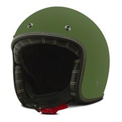 Capacete Custom Solid Fosco Etceter Green