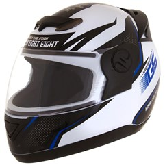 Capacete Evolution 788 G6 Mod. Factory Edition Branco