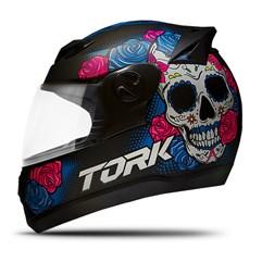 Capacete Fechado Pro Tork Evolution G7 Mexican Skull Fosco