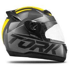 Capacete Fechado Pro Tork Evolution G7 Preto e Amarelo