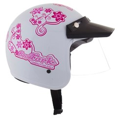 Capacete Feminino Pro Tork CompactFor Girls Branco