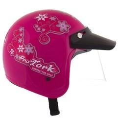 Capacete Feminino Pro Tork CompactFor Girls Rosa