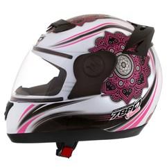 Capacete Feminino Pro Tork Evolution 788 Femme Branco/Rosa