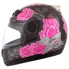 Capacete Feminino Pro Tork Evolution 788 G5 Just Live Rosa