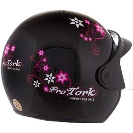 Capacete Feminino Pro Tork Liberty 3 For Girls