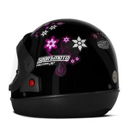 Capacete Feminino Pro Tork Sport Moto For Girls