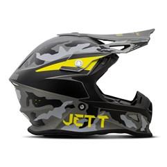 Capacete Jett Cross Fast Factory Edition 3 Amarelo