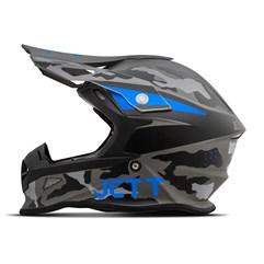 Capacete Jett Cross Fast Factory Edition 3 Azul