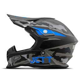 Capacete Jett Cross Fast Factory Edition 3 Azul