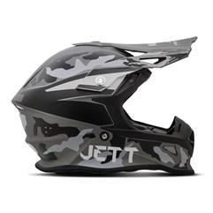Capacete Jett Cross Fast Factory Edition 3 Cinza