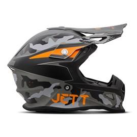 Capacete Jett Cross Fast Factory Edition 3 Laranja