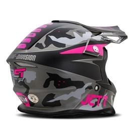 Capacete Jett Cross Fast Factory Edition 3 Rosa