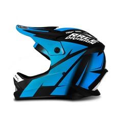 Capacete Jett Factory Edition Neon Infantil Azul