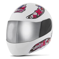 Capacete Liberty Four For Girls VIS. CROMADA