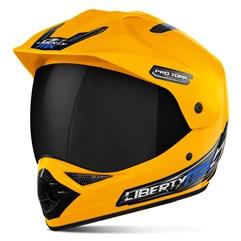 Capacete Liberty MX Pro Vision VIS.FUME