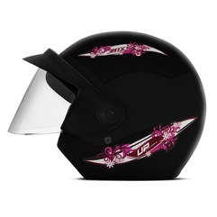 Capacete Mixs Up For Girls Preto