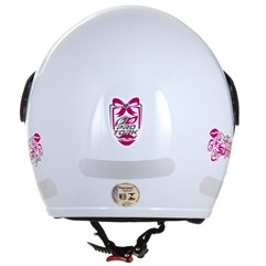 Capacete Moto Aberto Compact Summer For Girls Pro Tork