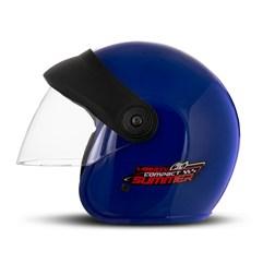 Capacete Moto Aberto Compact Summer Pro Tork Azul