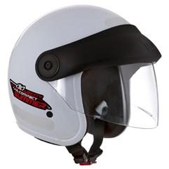 Capacete Moto Aberto Compact Summer Pro Tork Branco