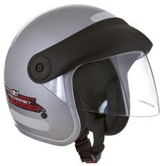 Capacete Moto Aberto Compact Summer Pro Tork Prata