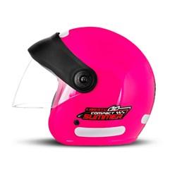 Capacete Moto Aberto Compact Summer Pro Tork Rosa