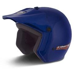 Capacete Moto Aberto Liberty Pro Tork Azul