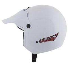 Capacete Moto Aberto Liberty Pro Tork Branco
