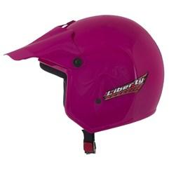 Capacete Moto Aberto Liberty Pro Tork Rosa