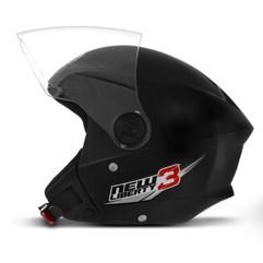 Capacete Moto Aberto New Liberty 3 Pro Tork Preto
